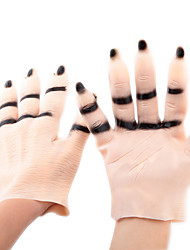 cheap -Halloween Masque Party Vampire Monster Horror Hands Costume Ball Cosplay Scary Haunted Ghost Imitating Flesh Color Hands Gloves