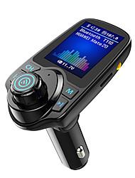 Недорогие -Muzili T11D Bluetooth FM-передатчик для автомобиля 1.8 цветной экран радио адаптер
