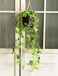 Недорогие -Искусственные растения Ткань Пастораль Стиль Корзина Цветы 1
