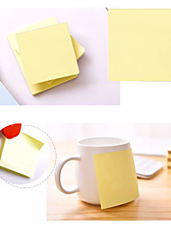 cheap -Sticky Notes 3x3 Self-Stick Notes Yellow Color 1 Pads 100 Sheets/Pad Polystyrene Earth Yellow