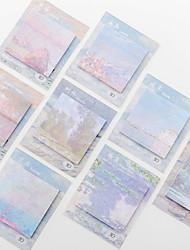 cheap -Natural Fiber Random Colour 2pcs Stickers & Tapes 9*11 cm