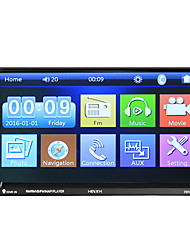 cheap -7 inch 2 DIN Car GPS Navigator Touch Screen / GPS / Built-in Bluetooth for universal Bluetooth Support WMV / RM / RMVB MP3 / WMA / WAV JPEG/ Car GPS Navigator /