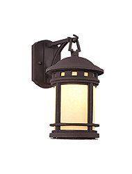 cheap -Wall Lamp Retro Column Head lamp Waterproof Outdoor Acrylic and Metal Wall Light Outdoor gate Door Pillar Wall Landscape Wall Sconce