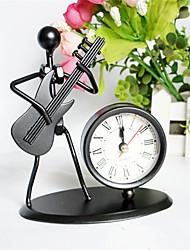Недорогие -музыкальный инструмент ремесло мода креатив музыка металл лрон человек часы офис украшение