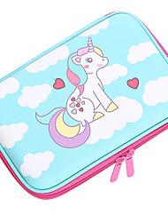 cheap -Storage Box / Pencil Cases Blue / Pink / Red, Plastics For Children / Water Resistant Organization 1pc