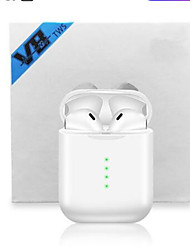 cheap -V8 TWS Pop-up True Wireless Earphone 6D Super Bass Bluetooth 5.0 Earphones