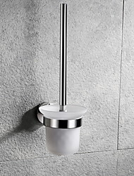 cheap -Toilet Brush Holder Creative Contemporary Stainless Steel 1pc Wall Mounted
