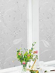 cheap -Window Film & Stickers Decoration Patterned Geometric / Character PVC(PolyVinyl Chloride) Window Sticker 100*45CM