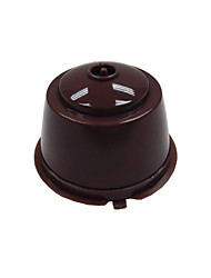 cheap -4pcs / 1pcs Reusable Coffee Capsules Cup Filter for Dolce Gusto Refillable Brewers Nescafe