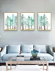 cheap -Framed Art Print Framed Set - Abstract Botanical PS Illustration Wall Art