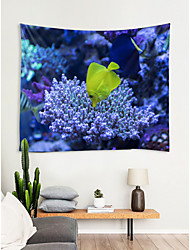 cheap -Beach Theme Wall Decor 100% Polyester New Year's Wall Art, Wall Tapestries Decoration