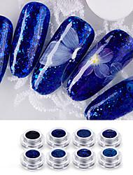 Недорогие -Кусачки для ногтей УФ-гель польский 6 ml 8 pcs Стиль / Bling Bling Замочить от Долгое Вечеринка / ужин / Ночь и особый случай / На каждый день Стиль / Bling Bling Модный дизайн / Светящийся