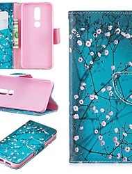 cheap -Case For Nokia 4.2/Nokia 3.2 Magnetic / Flip / with Stand Full Body Cases Flower Hard PU Leather for Nokia 1 Plus/Nokia 2/Nokia 2.1/Nokia 3.1/Nokia 5.1/Nokia 7.1/Nokia 8/Nokia 6