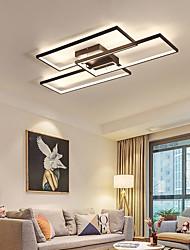 cheap -3-Light 110 cm LED Flush Mount Lights Metal Linear Painted Finishes Contemporary LED 110-120V 220-240V