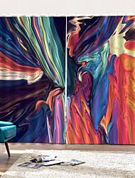 Недорогие -Горячая внешняя торговля красочный элемент крытый домашний стиль занавески для душа 3d художественная печать толщиной высокое качество