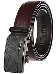 cheap -Men's Party / Work / Basic Leather Waist Belt - Solid Colored