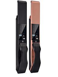cheap -Automatic intelligent door lock Slide semiconductor smart lock Factory OEM custom fingerprint lock