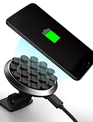cheap -360 degree rotating suction cup wireless charger mobile phone holder