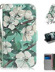 cheap -Case For Motorola G7 / G7 Plus / G7 Play Wallet / Card Holder / Shockproof Full Body Cases Flower PU Leather for  Moto G7 Power/MOTO G5S Plus/MOTO One / MOTO  P30 Play