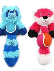 cheap -Plush Toy Squeaking Toy Teeth Cleaning Toy Interactive Cat Toys Fun Cat Toys Dog 1pc Pet Friendly Animals Plush Gift Pet Toy Pet Play