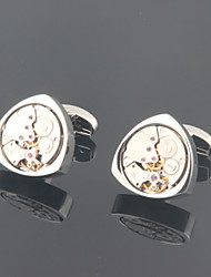 cheap -Cufflinks Vintage Casual Alloy Brooch Jewelry Silver For Wedding Party