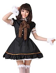 Недорогие -Иу pby_071l Супер милая кукла черно-белый костюм принцессы аниме косплей женская одежда (нейтральный продукт) black_m