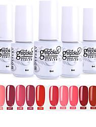 cheap -Nail Polish 12 Pcs color 145-156 xyp  Mottled Soak-Off UV/LED Gel Nail Polish Solid Color Nail Lacquer Sets