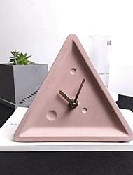 Недорогие -часы настольные часы современные современные пластиковые нерегулярные