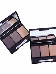 cheap -3 Colors Eyeshadow Nursing Simple Odor Free Women Best Quality Youth Normal Casual / Daily Safety Daily Makeup Cosmetic Gift