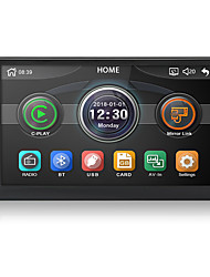 abordables -chelong 2din voiture radio 7 '' carplay mp5 miroir lien android 9.0 lecteur multimédia bluetooth usb caméra de recul caméra mp5 double din auto