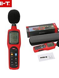 Недорогие -uni-t оригинальный ut351 цифровой измеритель уровня звука дБ децибеллометр шумомер 30-130дБ с жк-подсветкой AC / DC выход