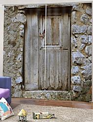 Недорогие -Горячие продажи красивые шторы прозрачный принт неувядающий затемняющий полиэстер ткань толщиной водонепроницаемый литьевой занавески для ванной