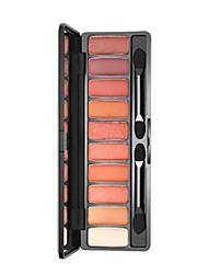 Недорогие -10 цветов Тени Матовое стекло Тени для век Pro Прост в применении Офис Повседневный макияж косметический Подарок