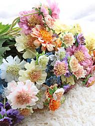 Недорогие -Дунгуань pho_08ko4 вилка ветряная мельница синий искусственный цветок украшения дома свадебные украшения белый