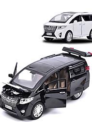 cheap -1:24 Toy Car Car SUV Parent-Child Interaction Metal Aluminum-magnesium alloy All