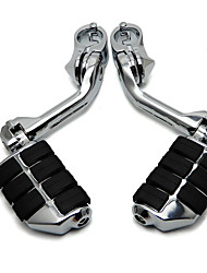 cheap -360 Degree Adjustable Highway Foot Pegs Footpeg Footrests for Harley 32mm