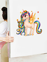cheap -Cute Cartoon Wall Stickers - Animal Wall Stickers Animals / Landscape Study Room / Office / Dining Room / Kitchen-F