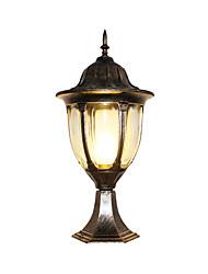 Недорогие -водонепроницаемый ретро уличные настенные светильники сад / наружный алюминиевый настенный светильник 110-120v / 220-240v