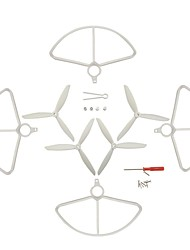 cheap -Holy Stone HS700 1 set Propeller Guards / Propellers RC Quadcopters RC Quadcopters ABS+PC Low Noise / Removable / Easy to Install