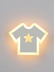 cheap -LED Wall Sconce Modern Contemporary Flush Mount wall Lights Kids Room / Girls Room Metal Wall Light