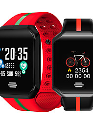 cheap -Smartwatch Digital Modern Style Sporty Silicone 30 m Water Resistant / Waterproof Heart Rate Monitor Bluetooth Digital Casual Outdoor - Black Green Red