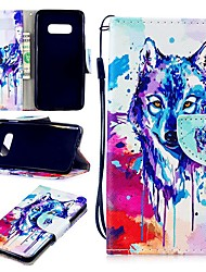 cheap -Case For Samsung Galaxy S9 / S9 Plus / S8 Plus Wallet / Card Holder / Shockproof Full Body Cases Animal Hard PU Leather