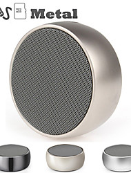cheap -BS01 wireless speaker metal mini portable subwoof sound with Mic TF card MP3 music play loudspeaker