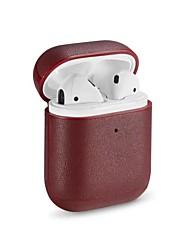 Недорогие -наушники для наушников сумка для переноски искусственная кожа румяна розовый / черный 1 шт