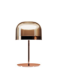 cheap -LED Table Light Glass Simple Desk Lighting Modern Contemporary / Simple LED Table Lamp for Office / Indoor Metal Rose Gold