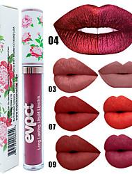 Недорогие -Лучшие продажи матовая жидкая помада набор 12 цвет сексуальный увлажняющий блеск для губ женский макияж