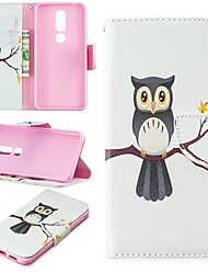 cheap -Case For Nokia 3.2 / Nokia 6 2018 Magnetic / Flip / with Stand Full Body Cases Animal Hard PU Leather for Nokia 1 / Nokia 1 Plus / Nokia 2/Nokia 2.1/Nokia 3.1/Nokia 5.1/Nokia 4.2/Nokia 8/Nokia 7.1