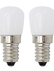 Недорогие -2 шт. E14 винт светодиодная лампа мини затемнения светодиодный холодильник свет 2 Вт ночной свет светодиодный диапазон капот лампы