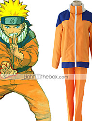 cheap -Inspired by Naruto Hatake Kakashi / Naruto Uzumaki Anime Cosplay Costumes Japanese Cosplay Suits Costume For Boys' / Girls'
