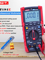 cheap -UNI-T UT191E Professional digital multimeter DC AC Volt Ampere ohm Meter IP65 waterproofACV LPF/LoZ ACV Duty cycle/Diode Tester